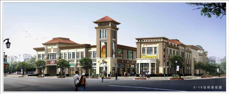 s 16效果图 阳光城市沿街商业建筑方案调整规划公示