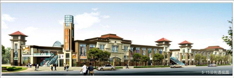 s 15效果图 阳光城市沿街商业建筑方案调整规划公示