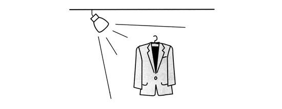 照明小品手绘线稿