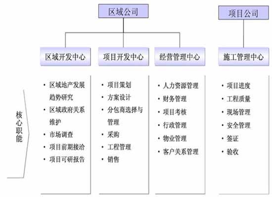 组织架构为矩阵式,兼顾职能部门化和产品部门化