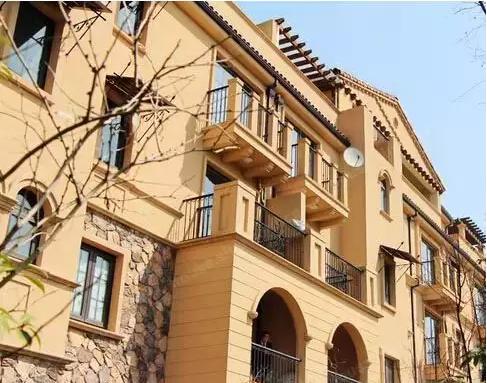 欧式拱形建筑别墅