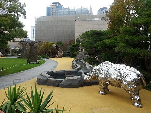 商业建筑生态屋顶花园景观营造