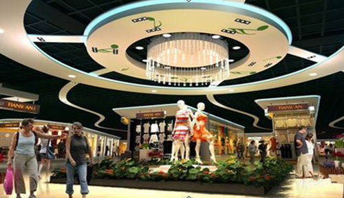 海洋主题,女性主题,森林主题 这些mall都在玩主题