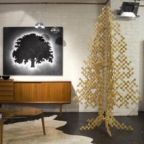 我们最常见的圣诞树装饰莫