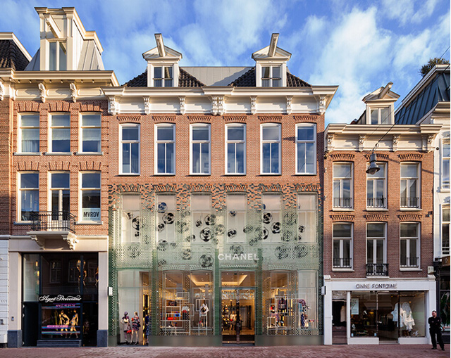 那些在关店潮中靠颜值取胜的奢侈品门店是如何做设计的?图片