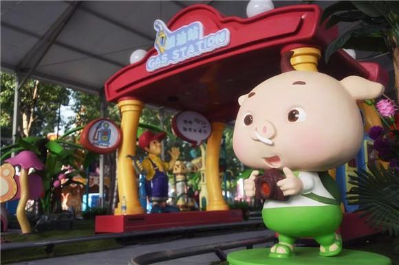 猪猪侠汽车小镇 蟹岛度假村亮点解析   以文化加娱乐的形式,营造
