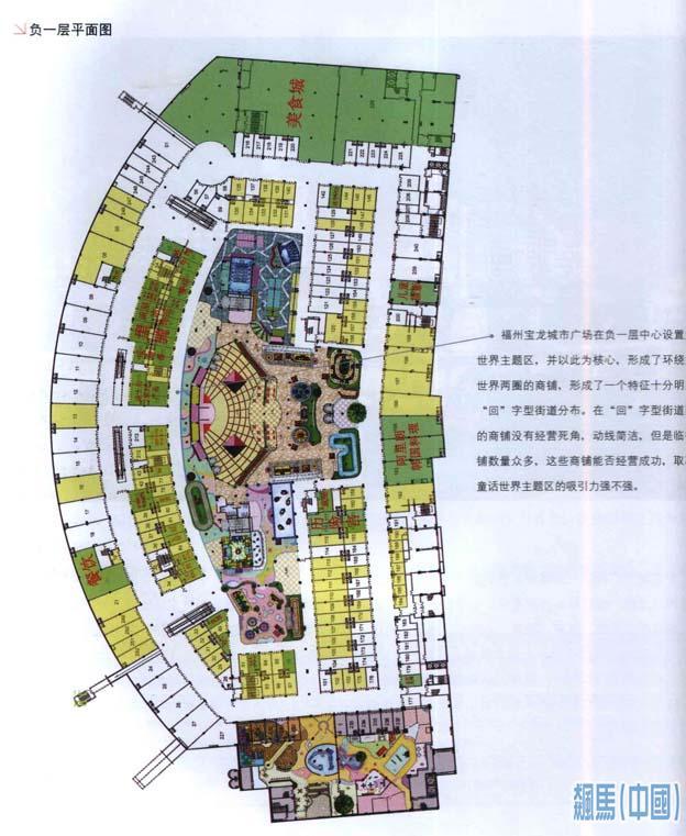 宝龙城市广场商业规划