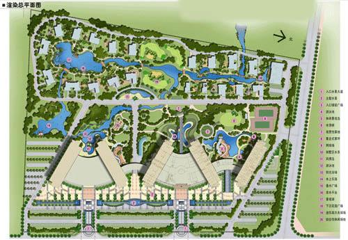 安徽芜湖沃尔特大酒店景观规划图片
