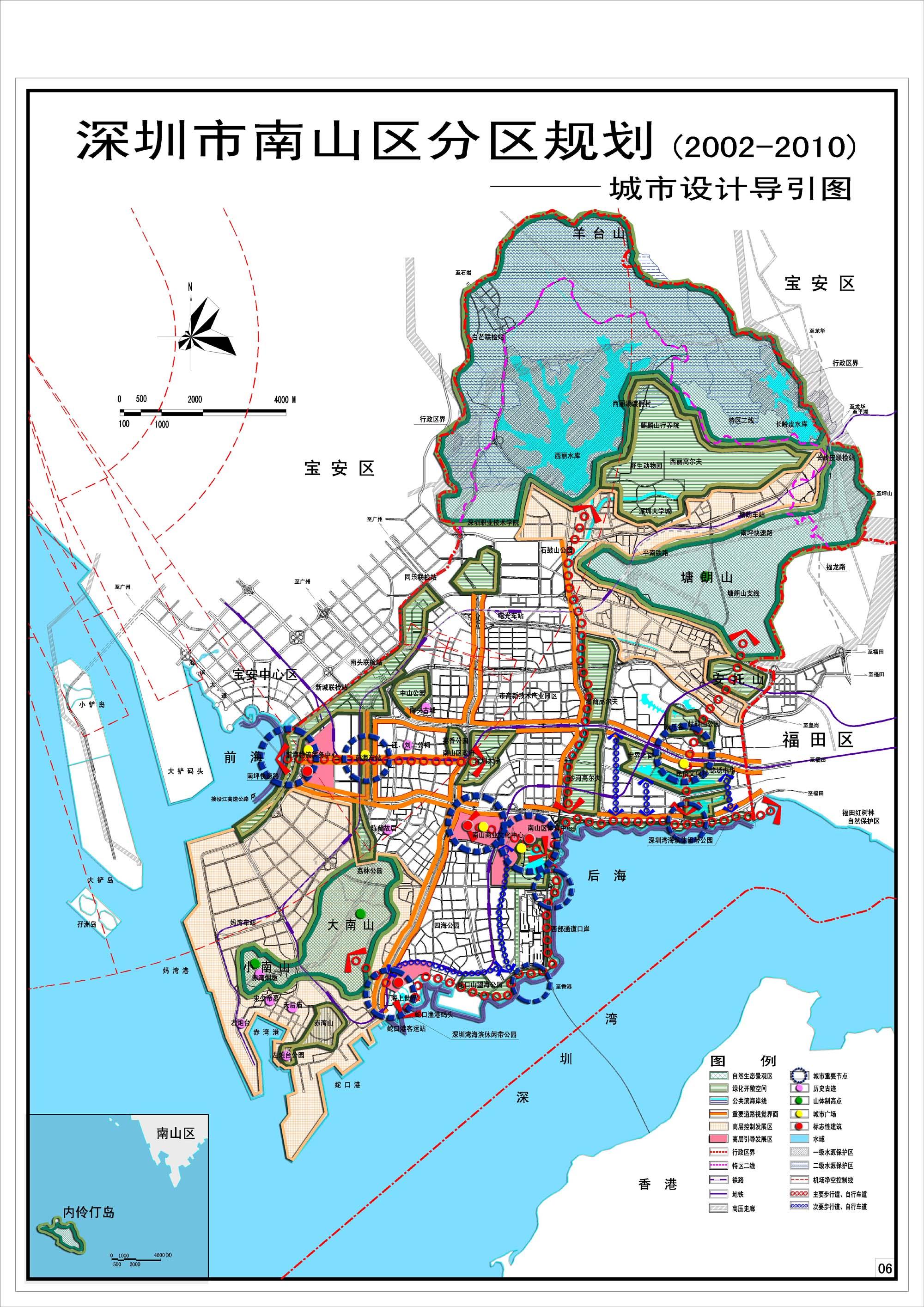 东昌湖风景区规划图 四姑娘山旅游区规划图 南宁市凤岭分区规划图  &