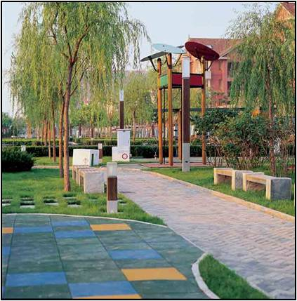 桂林花园景观小品