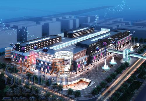 中韩国际小商品城三期景观