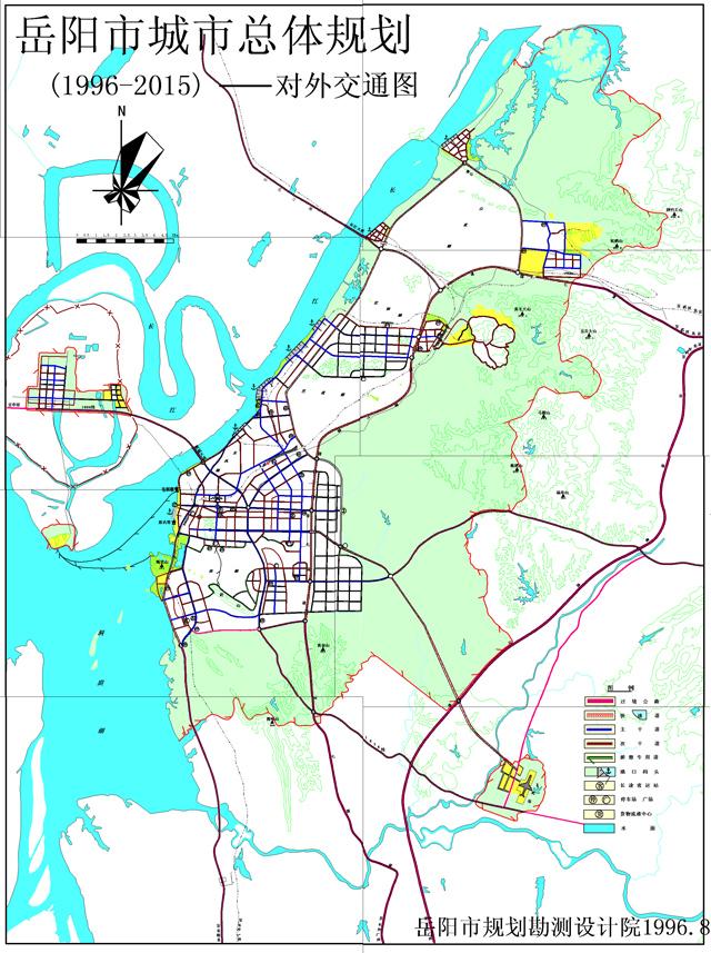 岳阳市城市规划